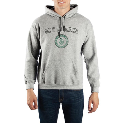 Harry Potter Slytherin Values Pullover Hooded Sweatshirt - Iconic Wars