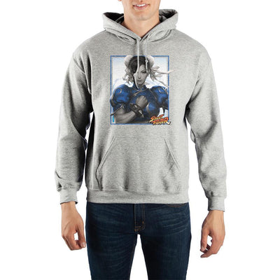 Street Fighter Chun-Li Pullover Hoodie Sweatshirt - Iconic Wars