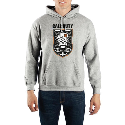 Call of Duty: Black Ops 4 Skull Pullover Hooded Sweatshirt - Iconic Wars
