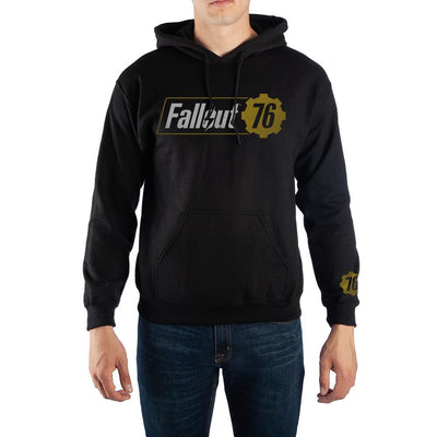 Fallout 76 Logo Pullover Hooded Sweatshirt - Iconic Wars