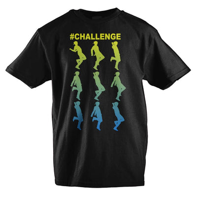 Dance #Challenge Youth Short-Sleeve T-Shirt - Iconic Wars