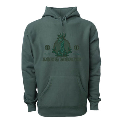 Long Money- Dark Green Hoodie - Iconic Wars