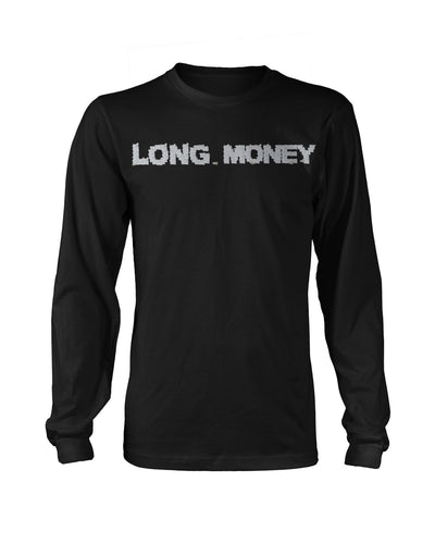 Long Money- Black Long sleeve - Iconic Wars