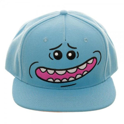 Rick and Morty Snapback Hat Rick and Morty Mr. Meeseeks Rick and Morty Gift - Rick and Morty Hat Rick and Morty Accessories - Iconic Wars