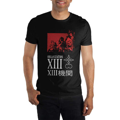 Kingdom Hearts Organization 13 XIII Men's T-Shirt Tee Shirt - Iconic Wars