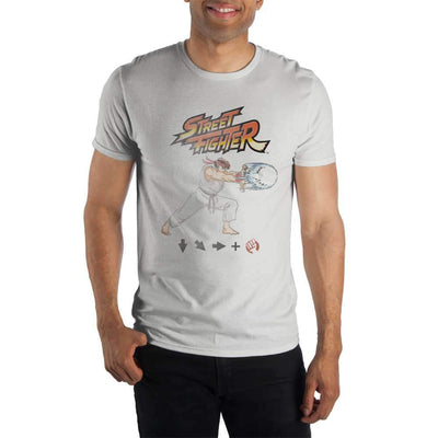 Men's Ryu Street Fighter Shirt - Iconic Wars