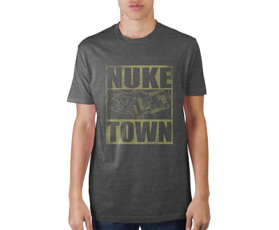 Call Of Duty Franchise Nuke T-Shirt - Iconic Wars