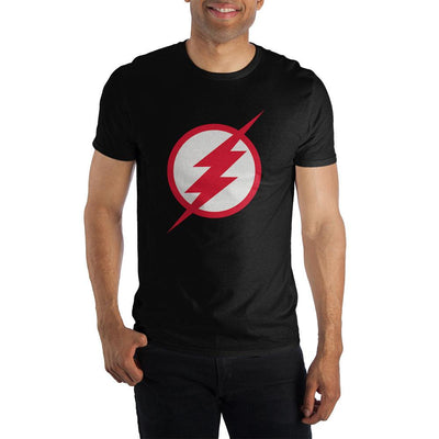 Men's DC Comics The Flash Logo Soft Hand Print Shirt - Iconic Wars
