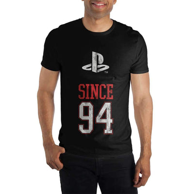 Original Playstation Since 94 1994 Men's Black T-Shirt Tee Shirt - Iconic Wars