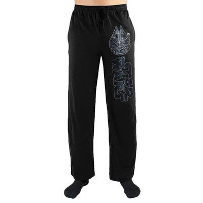 Star Wars The Millennium Falcon Print Men's Loungewear Lounge Pants - Iconic Wars