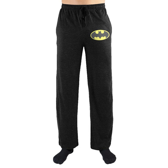 DC Comics Batman Bat Signal Print Mens Lounge Pants - Iconic Wars