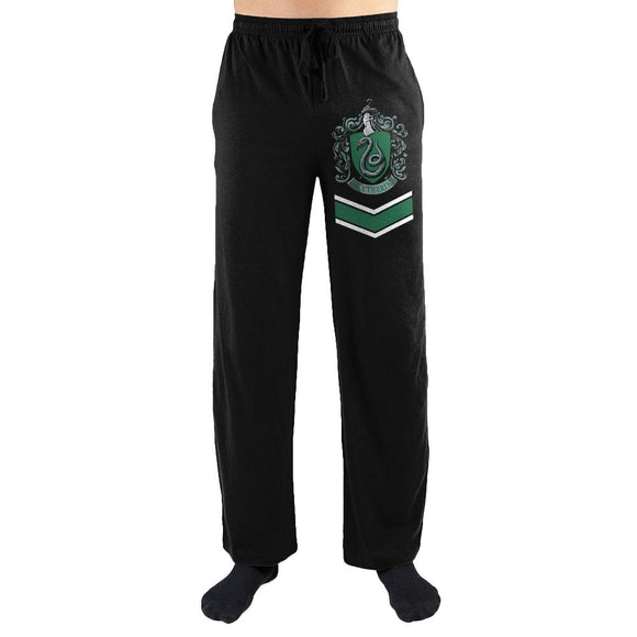 Harry Potter Slytherin House Crest Print Men's Loungewear Lounge Pants - Iconic Wars