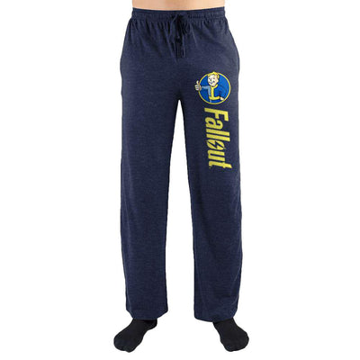 Fallout Thumbs Up Logo Print Mens Loungewear Lounge Pants - Iconic Wars