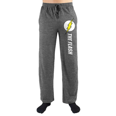 DC Comics The Flash Logo Print Mens Loungewear Lounge Pants - Iconic Wars
