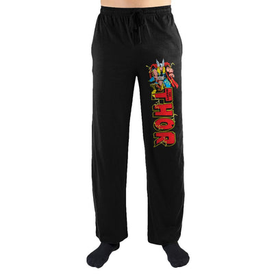 Marvel Vintage Thor Sleep Pants - Iconic Wars