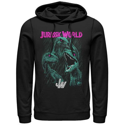 Bright Raptor Squad - Hooded Fleece - Iconic Wars