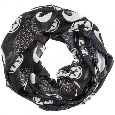 Star Wars Toss Icons Infinity Viscose Scarf - Iconic Wars