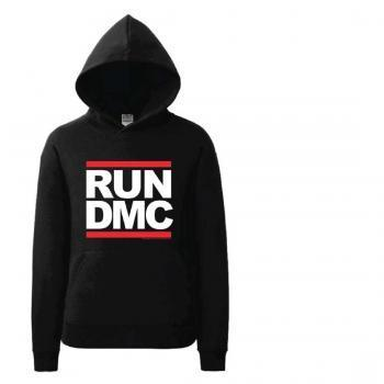 RUN DMC BLACK HOODIE - Iconic Wars