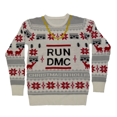 RUN DMC Chain Ugly Sweater - Iconic Wars