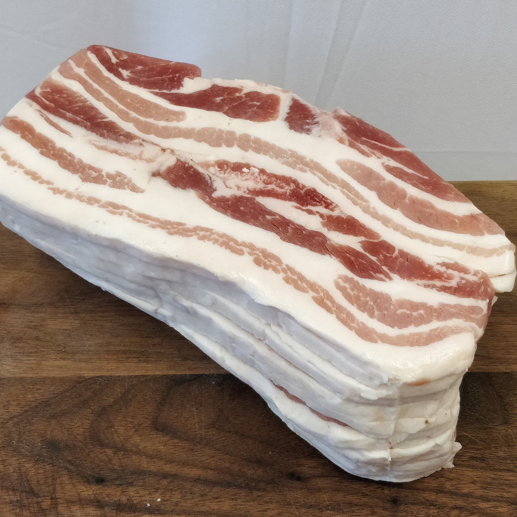 Dingley Dell Pork Baguette Streaky Bacon Exclusive 1KG