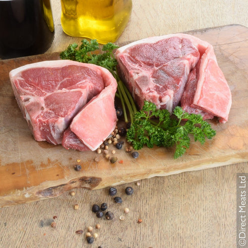 British Lamb Loin Chop 2 Pack