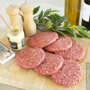 Grass Fed Beef Burgers 12 Pack