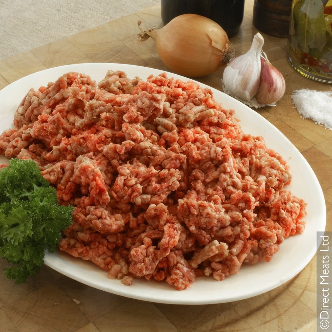 Fresh Grass Fed Minced Beef 500g