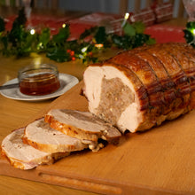 Load image into Gallery viewer, *Frozen* Festive Stuffed & Rolled Turkey Breast *PRE ORDER DELIVERED 17th-18th OF DEC*