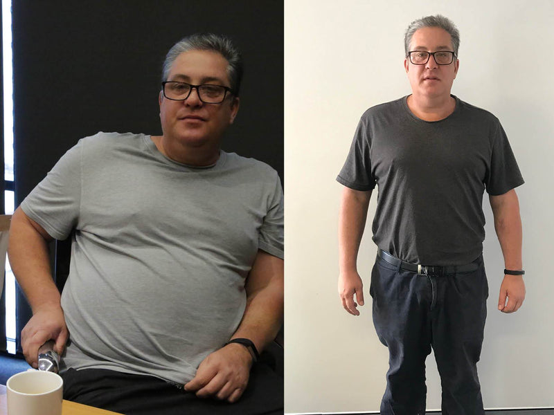 Meet Tom - Weight Loss Success Stories - 17kgs Lost in 4 Months!