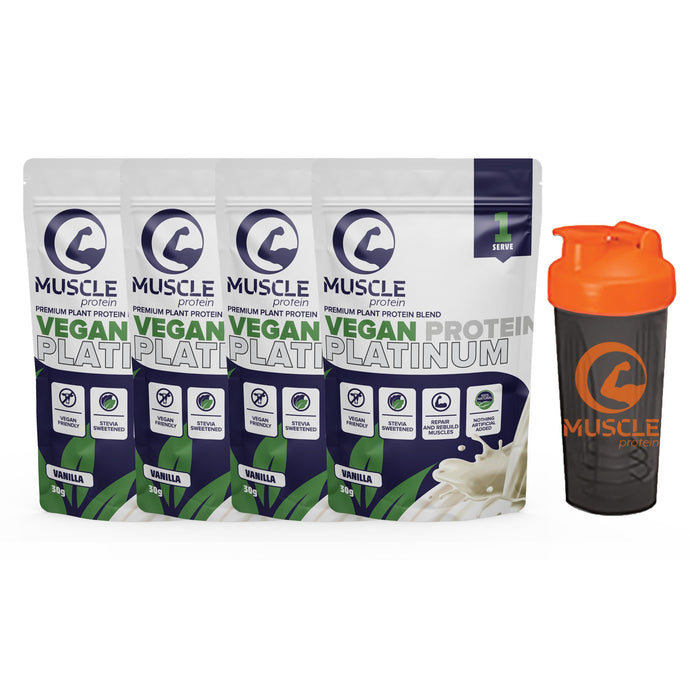Vegan Protein Platinum Sample Pack