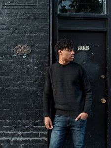 Men's Merino wool sweater made in Great Britain