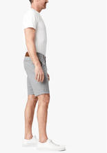 Load image into Gallery viewer, best slim fitting grey cotton shorts for men