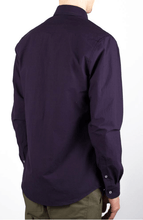 Load image into Gallery viewer, over dyed poplin-purple shirt