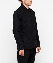 Load image into Gallery viewer, man is wearing a weatherproof bomber jacket in black