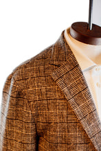 Load image into Gallery viewer, Circolo 1901 Geometric Check Soft Jacket