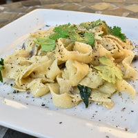 Spinach Alfredo Pasta by Chef Budha