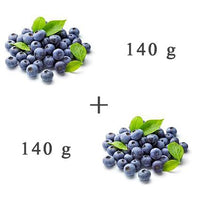 Fresh Fruit - 2 X Blueberries 140 G