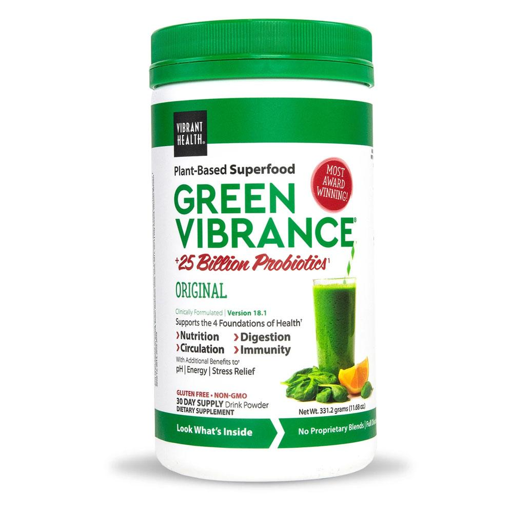 Green Vibrance Powder 30 Day - Probiotic