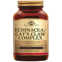 Health Supplement - Solgar Echinacea/CatsClaw/Goldenseal