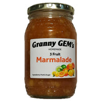 Home Made - 3 Fruits Marmalade 350 Ml