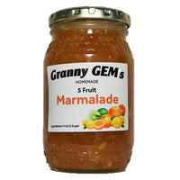Home Made - 5 Fruits Marmalade 350 Ml