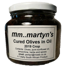 Home Made - Cured Olives 500 Ml