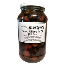 Home Made - Cured Olives 750 Ml