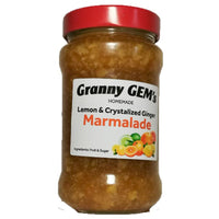 Home Made - Lemon And Crystallized Ginger Marmalade 400ml