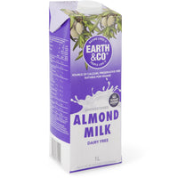Milk - Earth & Co Almond Milk 1 L