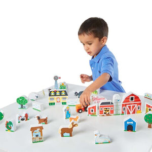 Melissa & Doug Farm and Tractor Set