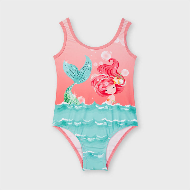 Mayoral Girls One Piece Bathing Suit