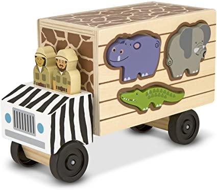 Melissa & Doug Number Safari Animal Rescue