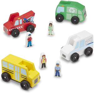 Melissa & Doug Community Vehicles