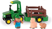 Load image into Gallery viewer, Tomy John Deer Hauling Playset